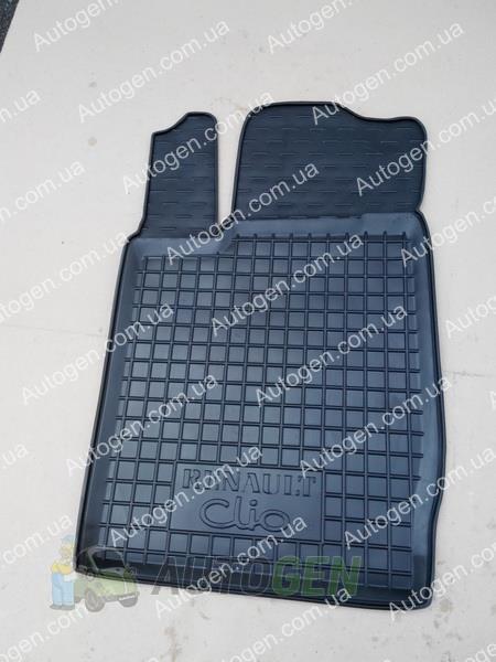 renault symbol коврик водительский резина
