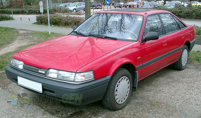 Подкрылки mazda 626 (gd) (1987-1992) (Задние 2шт.) купить, цена