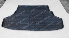 Коврик в багажник Hyundai Accent SD (2010-2017) (Avto-Gumm полимер-пластик)