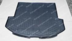 Коврик в багажник Hyundai Santa Fe (Grand) (2014-2018) (7 мест) (Base) (Avto-Gumm полимер-пластик)