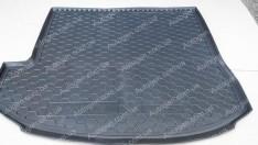 Коврик в багажник Hyundai Santa Fe 3 (Grand) (2014-2019) (7 мест) (Top) (Avto-Gumm полимер-пластик)