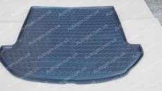 Коврик в багажник Hyundai Santa Fe (короткая база) (2012-2018) (7 мест) (Avto-Gumm полимер-пластик)