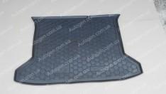 Коврик в багажник JAC S3 (Avto-Gumm полимер-пластик)