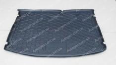 Коврик в багажник Kia Rio 3 HB (MID) (2015-2017) (Avto-Gumm полимер-пластик)