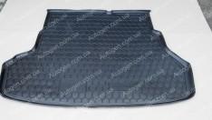 Коврик в багажник Kia Rio 3 SD (2011-2015) (Avto-Gumm полимер-пластик)