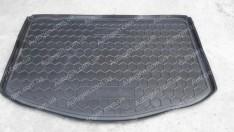 Коврик в багажник Kia Soul 2 (2013->) нижняя полка (без органайзер.) (Avto-Gumm полимер-пластик)