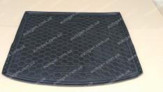 Коврик в багажник Mazda 3 HB (2013->) (Avto-Gumm полимер-пластик)