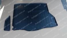 Коврик в багажник Mercedes C117 (2013->) (Avto-Gumm полимер-пластик)