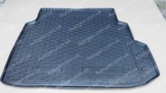 Коврик в багажник Mercedes W211 (2002-2009) (Avto-Gumm полимер-пластик)