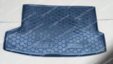 Коврик в багажник Nissan Juke (2014->) верхняя полка (Avto-Gumm полимер-пластик)