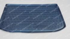 Коврик в багажник Nissan Micra (K13) (2010-2017) (Avto-Gumm полимер-пластик)