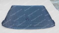 Коврик в багажник Nissan X-Trail T31 (2007-2014) без органайзера (Avto-Gumm полимер-пластик)