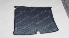 Коврик в багажник Peugeot Bipper (2008->) (Avto-Gumm полимер-пластик)