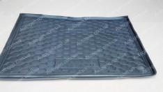 Коврик в багажник Renault Captur (2013->) (нижняя полка) (Avto-Gumm полимер-пластик)