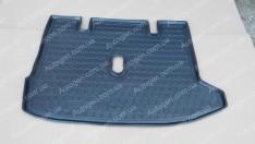 Коврик в багажник Renault Lodgy (2012->) (Avto-Gumm полимер-пластик)
