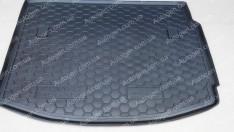 Коврик в багажник Renault Megane 3 HB (2008-2015) (Avto-Gumm полимер-пластик)