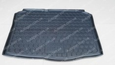 Коврик в багажник Skoda Fabia 1 HB (хетчбэк) (1999-2007) (Avto-Gumm полимер-пластик)