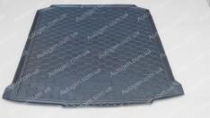 Коврик в багажник Skoda Fabia 2 Combi (универсал) (2007-2014) (Avto-Gumm полимер-пластик)
