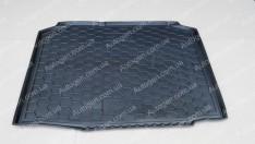 Коврик в багажник Skoda Fabia 2 HB  (хетчбэк) (2007-2014) (Avto-Gumm полимер-пластик)