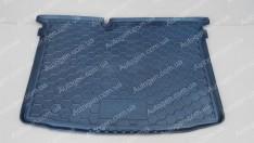 Коврик в багажник Skoda Fabia 3 HB (2014->) (хетчбэк) (Avto-Gumm полимер-пластик)