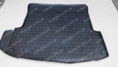 Коврик в багажник Skoda Octavia A4 Tour LB (лифтбек) (1996-2010) (Avto-Gumm полимер-пластик)