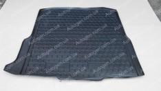 Коврик в багажник Skoda Octavia A7 Combi (2013->) (универсал) (бокс усилитель) (Avto-Gumm полимер-пластик)