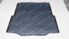 Коврик в багажник Skoda Superb 2 (2008-2015) LB (лифтбек) (Avto-Gumm полимер-пластик)