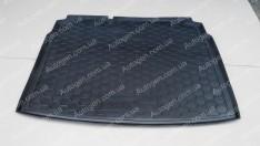 Коврик в багажник Volkswagen Golf 5 HB (2003-2008) (с докаткой) (Avto-Gumm полимер-пластик)