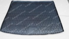 Коврик в багажник Volkswagen Touareg 2 (2010-2018) (Avto-Gumm полимер-пластик)