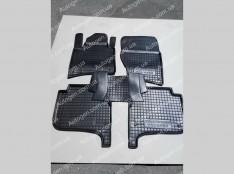 Коврики салона Volkswagen Touareg 2 (2010-2018) (5шт) (Avto-Gumm)