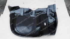 Коврик в багажник Audi 80 B3 (1986-1991) (резино-пластик) (Nor-Plast)
