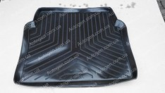 Коврик в багажник Mercedes W124 SD (1985-1995) (резино-пластик) (Nor-Plast)