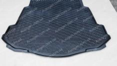 Коврик в багажник Ford Mondeo 4 SD (с докаткой) (2007-2014) (Avto-Gumm полимер-пластик)