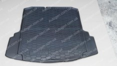 Коврик в багажник Volkswagen Jetta 6 (2010->) (MID) (с ушами) (Avto-Gumm полимер-пластик)