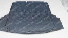 Коврик в багажник Volkswagen Jetta 6 (2010-2019) (MID) (с ушами) (Avto-Gumm Полиуретан)