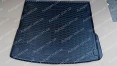 Коврик в багажник Audi Q7 (2005-2015) (Avto-Gumm полимер-пластик)
