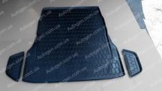 Коврик в багажник Mercedes W222 SD (2013->) (без регулировки сидений) (Avto-Gumm полимер-пластик)