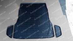 Коврик в багажник Mercedes W222 SD (2013->) (без регулировки сидений) (Avto-Gumm Полиуретан)