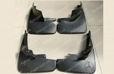 Брызговики Mercedes W164 (2005-2011) (без порогов) (4шт.) (оригинал)