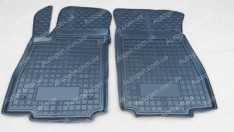 Коврики салона Skoda Octavia A7 (2013->) (передние 2шт) (Avto-Gumm)