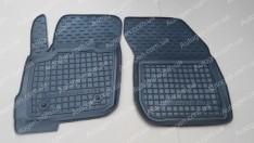 Коврики салона Ford Mondeo 5 (2014->) (передние 2шт) (Avto-Gumm)