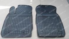 Коврики салона Ford EcoSport 2 (2013->) (передние 2шт) (Avto-Gumm)