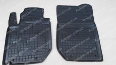 Коврики салона Geely LC Cross GX2 (2012->) (передние 2шт) (Avto-Gumm)