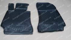 Коврики салона Mercedes W212 (2009-2016) (передние 2шт) (Avto-Gumm)