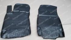 Коврики салона Renault Captur (2013->) (передние 2шт) (Avto-Gumm)