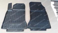 Коврики салона Mercedes C117 (2013->) (передние 2шт) (Avto-Gumm)