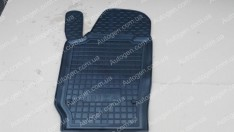 Коврики салона Seat Ibiza 4 (2008-2017) (3-5 дверей) (водительский 1шт) (Avto-Gumm)