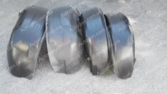 Подкрылки Citroen Berlingo 2 (2008->) (4шт) (Mega-Locker)