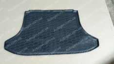 Коврик в багажник Chery Tiggo 3 (2016->) (Avto-Gumm полимер-пластик)