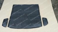 Коврик в багажник Chevrolet Cruze 2 UN (универсал) (2008->) (Avto-Gumm полимер-пластик)